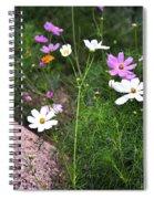 Simple Flowers 11460 Spiral Notebook