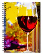 Wine - Simple Life Spiral Notebook
