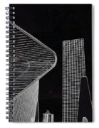 Simple Lines Spiral Notebook