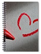 Simple Love Spiral Notebook