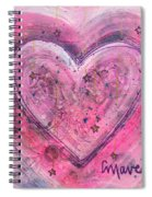 Simple Love Simple Heart Spiral Notebook