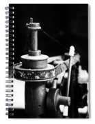 Simple Machinery Spiral Notebook