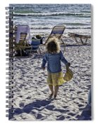 Simpler Times 2 - Miami Beach - Florida Spiral Notebook