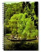 Simpler Times - Central Park - Nyc Spiral Notebook