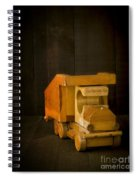 Simpler Times - Old Wooden Toy Truck Spiral Notebook
