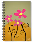 Simply Flowers Spiral Notebook