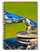 Simply Jaguar-front Emblem Spiral Notebook