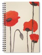 Simply Poppies 2. Spiral Notebook