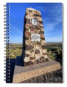 Simpson Springs Pony Express Station Monument - Utah Spiral Notebook