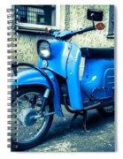 Simson Schwalbe Kr51 Spiral Notebook