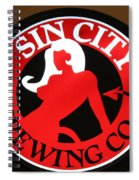 Sin City Brewing  Spiral Notebook