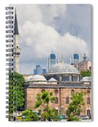 Sinan Pasha Mosque In Istanbul Spiral Notebook