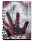 Sine Of The Wave Spiral Notebook