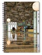 Singapore Changi Airport 03 Spiral Notebook
