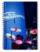 Singapore Drum Set 03 Spiral Notebook
