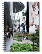 Singapore Orchard Road 02 Spiral Notebook