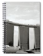 Singapore Skyline Spiral Notebook