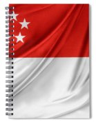 Singaporean Flag Spiral Notebook