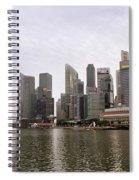 Singapore's Marina Bay Spiral Notebook