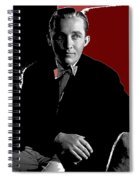 Singer And Actor Bing Crosby Circa 1934-2014 Spiral Notebook
