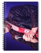 Singer Andy  Bell Spiral Notebook