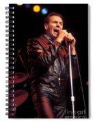 Singer Freddie Canon Spiral Notebook