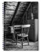 Singer In The Attic Spiral Notebook