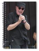 Singer Mitch Ryder Spiral Notebook