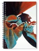 Singing Frog Duet 2 Spiral Notebook