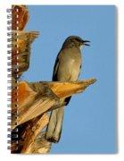 Singing Mockingbird Spiral Notebook