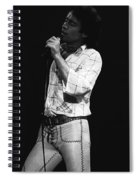 Singing With His Heart And Soul Spiral Notebook