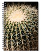 Single Cactus Ball Spiral Notebook