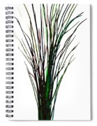 Single Winter Tree Painting Isolated Spiral Notebook