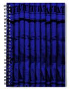 Singles In Blue Spiral Notebook