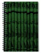 Singles In Dark Green Spiral Notebook