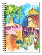 Sintra Castle 02 Spiral Notebook