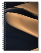 Sinuous Dunes  Spiral Notebook