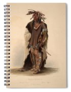 Sioux Warrior Spiral Notebook