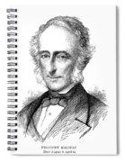 Sir Charles Wood (1800-1885) Spiral Notebook