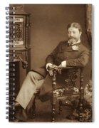 Sir Francesco Paolo Tosti Spiral Notebook