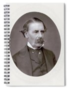 Sir Henry Thompson (1820-1904). English Surgeon. Photographed C.1882 Spiral Notebook