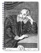 Sir Henry Wotton (1568-1639) Spiral Notebook