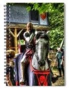 Sir Lancelot Du Lac Spiral Notebook