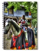 Sir Lancelot Du Lac - V2 Spiral Notebook