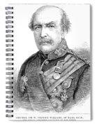 Sir William Williams  (1800-1883) Spiral Notebook