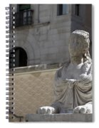 Siren Sphinx In The Medina Del Campo Spiral Notebook