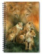 Sisterhood Of The Lions Spiral Notebook