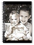 Sisters In Sepia Spiral Notebook