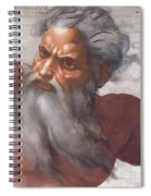 Sistine Chapel Ceiling Creation Of The Sun And Moon Spiral Notebook