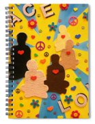 Sit Down And Change The World Spiral Notebook